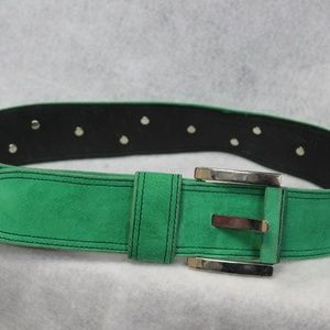 Women's Green Escada Belt Size 38 (US Size 18)